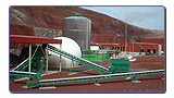 Solid waste treatment plant,Zonzama (Lanzarote)